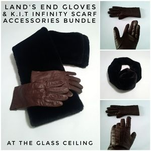 2 IN 1 ACCESSORIES BUNDLE GLOVES & SCARF